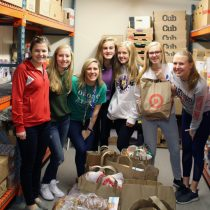 WE Scare Hunger collects 1,377 pounds of food!