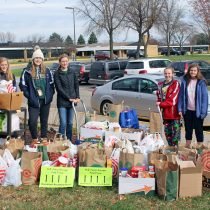 Food drive collects over 1,600 pounds