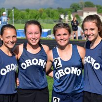 Orono Track Athletes Compete at Elite Meet