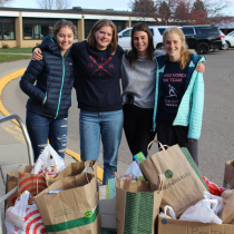 Food Drive Collects Hundreds of Pounds!