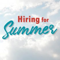 Hiring for Summer!