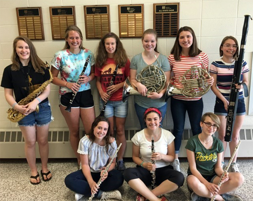 Group photo of all-state musicians