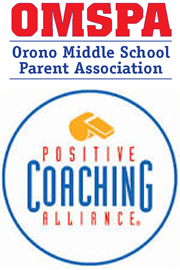 OMSPA and Positive Coaching Alliance logos