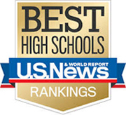 U.S. News Best High Schools Gold 2017