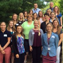 New staff members go on tour of district