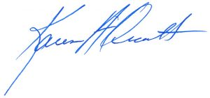 Signature of Karen Orcutt
