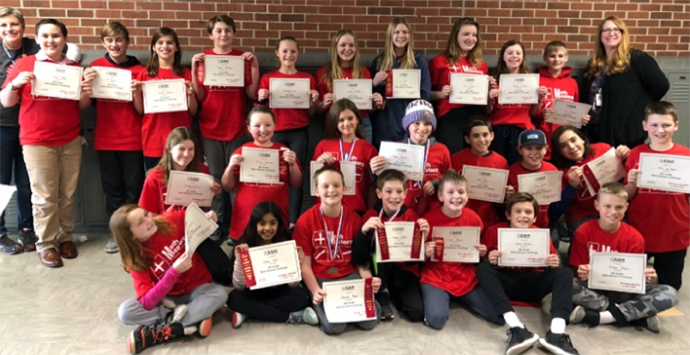 OMS Math Masters team